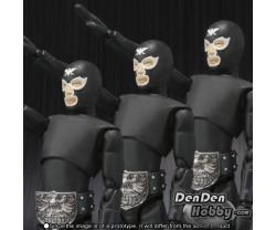 [PRE-ORDER] S.H.Figuarts Kamen Rider SHOCKER COMBATMAN Japan Aggressive Attack Set (Masked Rider)