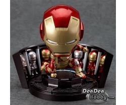[IN STOCK] Nendoroid Iron Man Mark 42 Hero's Edition + Hall of Armor Set