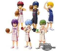 [PRE-ORDER] Half Age Characters Kuroko's Basketball Kiseki no Sedai Generation of Miracle Figure Set of 6