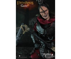 "[IN STOCK] Lord of the Ring Mordor Orc Lieutenant Guritz 12"" Action Figure"