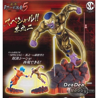 [IN STOCK] Dragonball SCultures BIG Zoukei Tenkaichi Budokai Vol.5-2 Special Golden Freeza Figure