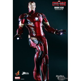 [IN STOCK] PPS003 Captain America: Civil War Iron Man Mark XLVI 1/6 Power Pose Figure