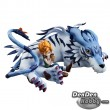 [IN STOCK] GEM Series Digimon Adventure Garurumon & Ishida Yamato