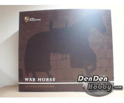 [IN STOCK] 1/6 War Horse White Horse for General H04
