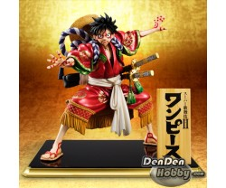 "[IN STOCK] Portrait.Of.Pirates POP One Piece ""KABUKI EDITION"" Monkey D Luffy"