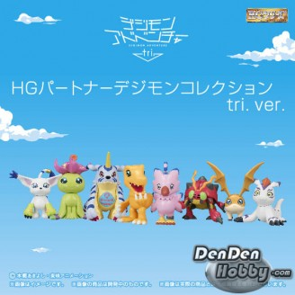 [IN STOCK] Digimon Adventure tri. HG Partner Digimon Collection tri. ver. Set of 8