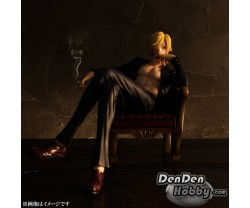 [IN STOCK] Portrait.Of.Pirates POP One Piece SOC Sitting on Chair Sanji