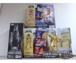 [IN STOCK] Saint Seiya D.D.Panoramation Pegasus Seiya Pegasus Meteor Punches+Gemini Saga Pope's Chamber set of 2