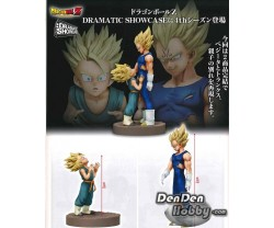 [IN STOCK] Banpresto Dragonball Z Dramatic Showcase 4nd Season Vol.1+2 Vegeta & Trunks Set of 2