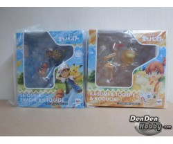 [IN STOCK] GEM Series Pokemon Misty Togepi Psyduck Ash Ketchum Pikachu Charmander