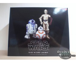 [IN STOCK] ARTFX+ Star Wars R2-D2 & C-3PO with BB-8