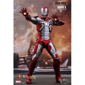 [PRE-ORDER] Iron Man 2 Mark V 1/6 Diecast Action Figure