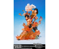 [PRE-ORDER] Figuarts Zero One Piece Monkey D Luffy+Portgas D Ace -Brother's Bond- Set of 2
