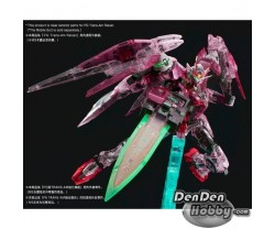 [IN STOCK] PG 1/60 GUNDAM OO CLEAR COLOR BODY for TRANS-AM RAISER
