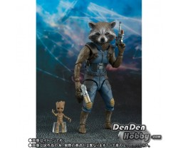 [PRE-ORDER] S.H.Figuarts Rocket & Baby Groot (Guardians of Galaxy: Remix) Set of  2