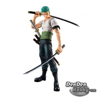 [PRE-ORDER] Variable Action Heroes One Piece Series Roronoa Zoro Past Blue