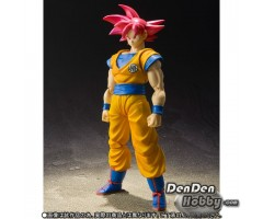 [PRE-ORDER] S.H.Figuarts Dragon Ball Z Super Saiyan God Son Goku