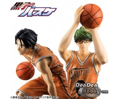 [PRE-ORDER] KUROKO'S BASKETBALL MIDORIMA & TAKAO ORANGE UNIFORM VER. SET