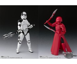 [PRE-ORDER] S.H.Figuarts Star Wars The Last Jedi First Order Executioner & Elite Praetorian Guard (Double Blade) Set of 2