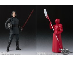 [PRE-ORDER] S.H.Figuarts Star Wars The Last Jedi Kylo Ren & Elite Praetorian Guard (Heavy Blade) Set of 2