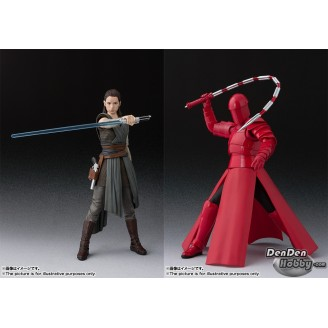 [PRE-ORDER] S.H.Figuarts Star Wars The Last Jedi Rey & Elite Praetorian Guard (Whip Staff) Set of 2