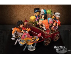 [PRE-ORDER] ONE PIECE WCF PARTY JUST BEING ME FIGURE (RIDE ON HORSE WAGON)