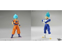 [PRE-ORDER] Dragon Ball Figure-rise Standard Super Saiyan God Super Saiyan Vegeta+Son Goku Set of 2