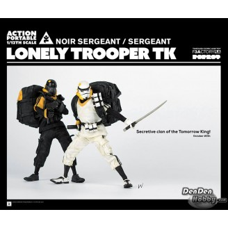 [PRE-ORDER] APTK LONELY TROOPER TK NOIR SERGEANT (White & DARK Ver.) 1/12 Figure Set