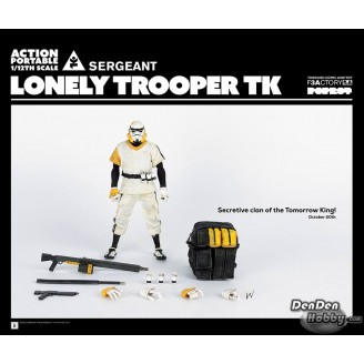 [PRE-ORDER] APTK LONELY TROOPER TK SERGEANT (White Ver.) 1/12 Figure