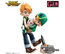[PRE-ORDER] GEM Series Digimon Adventure Ishida Yamato and Takaishi Takeru, Tsunomon and Tokomon