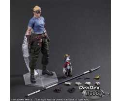 [PRE-ORDER] Final Fantasy VII Advent Children Play Arts Kai Cid Highwind & Cait Sith