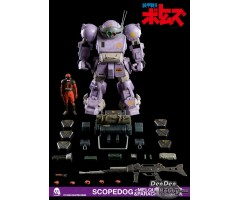 [PRE-ORDER] Armored Trooper Votoms Scopedog <Melquiya color> & Parachute Sack