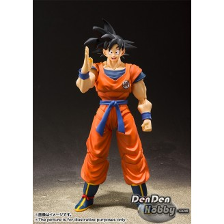 [PRE-ORDER] S.H.Figuarts Dragon Ball Son Goku Saiyan Grown on Earth
