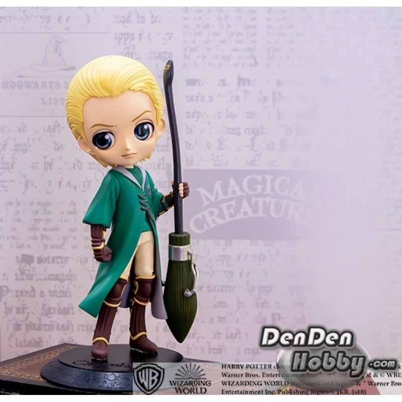 Draco Malfoy Quidditch Style Version A Banpresto Harry Potter Q Posket Figure