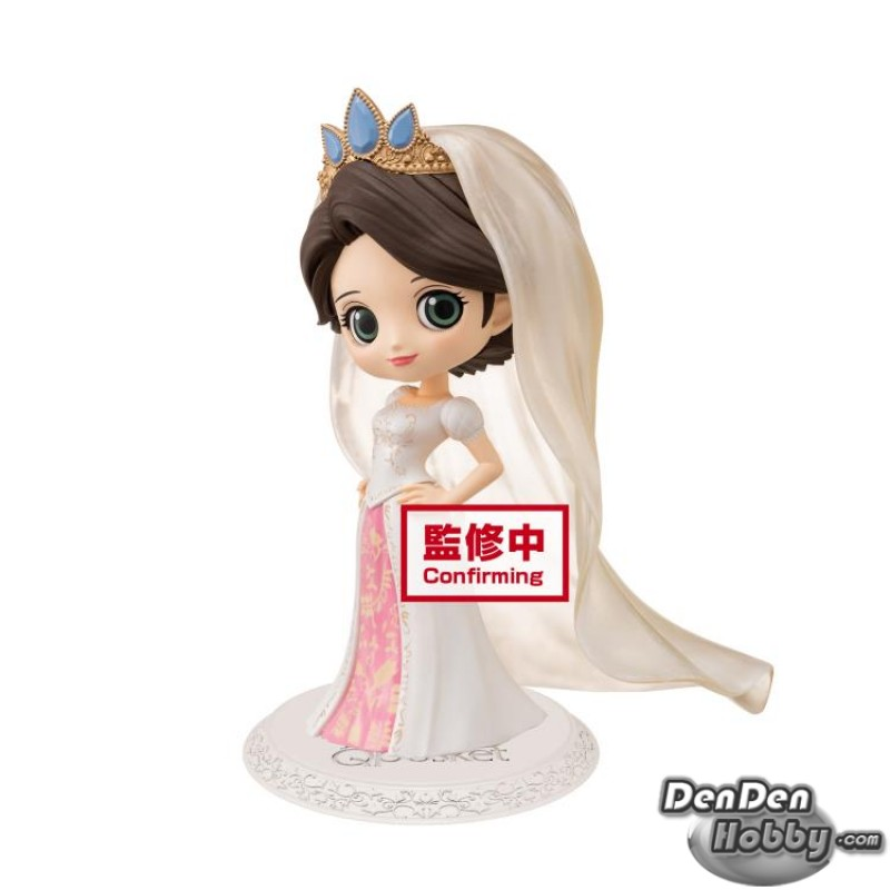 In Stock Q Posket Disney Characters Princess Rapunzel Wedding Dress Ver A